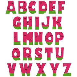 Watermelon Complete Uppercase