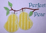 Perfect Pear Appliqué