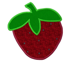 Strawberry Appliqué