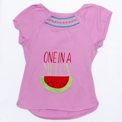 One in a Melon Appliqué