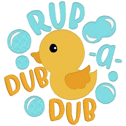 Rub a Dub Dub Nursery Rhyme Single