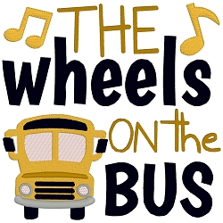 The Wheels on the Bus Nursery Rhyme Single