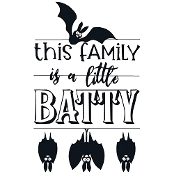 This Family is a little Batty Single