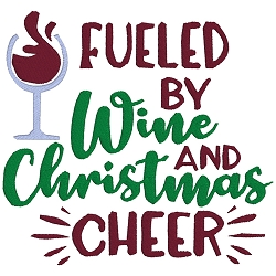 Fueled by Wine and Christmas Cheer