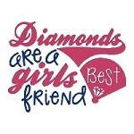 Diamonds at a Girls Best Friend Single
