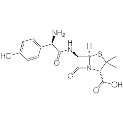 Amoxicillin Single Molecule