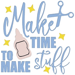 Make Time to Make Stuff Single