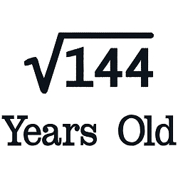 Square Root Birthday 12