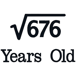 Square Root Birthday 26
