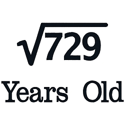 Square Root Birthday 27