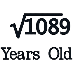 Square Root Birthday 33