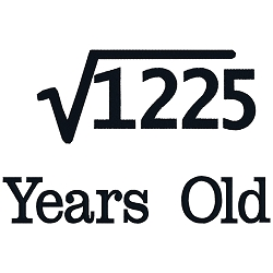 Square Root Birthday 35