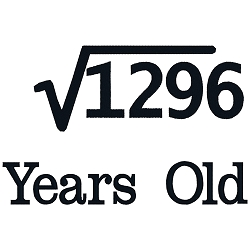 Square Root Birthday 36