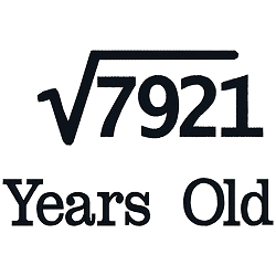 Square Root Birthday 89