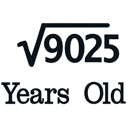 Square Root Birthday 95