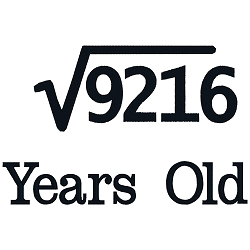 Square Root Birthday 96