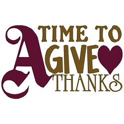 A Time to Give Thanks Single